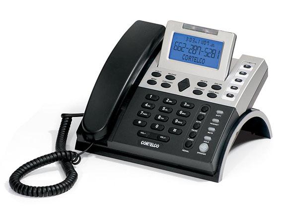 Cortelco 120300-V0E-27S Basic Single-Line Business Telephone With Speaker